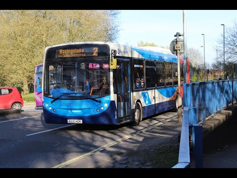 FRONT VIEW   Stagecoach Hampshire   Alexander Dennis E300/ADL E30D   2 - Baughurst   27620 (GX10HCH)