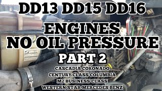 Freightliner Cascadia DD13 DD15 engine coolant in fuel