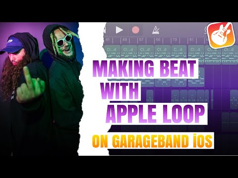 Making Hard Trap Beat With Apple Loop From The Scratch