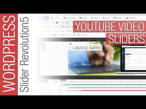 How To Create Video Sliders in Slider Revolution 5 2016