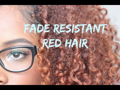 Fade Resistant Red | How I Get My Hair Color