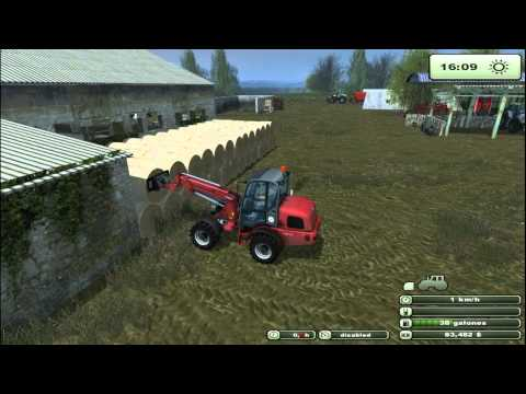 Farming Simulator 2013 | Feeding Cows