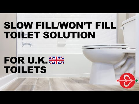 TOILET PROBLEM – SLOW FILL OR WON'T FILL