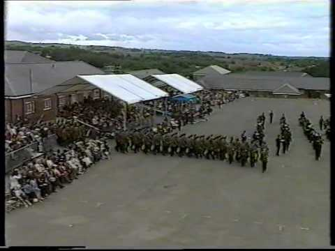 Presentation of Clours to The 1st Bn The Royal Irish Regiment