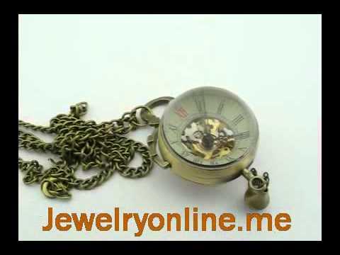 antique pocket watch necklace