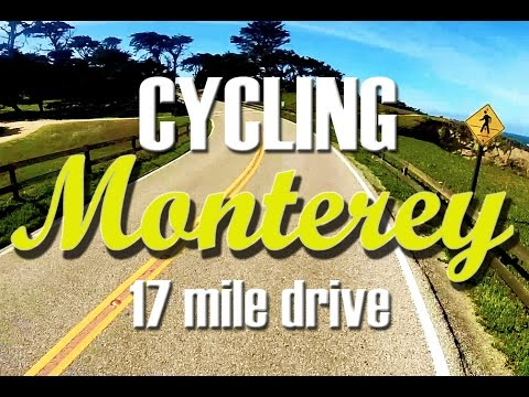 Cycling Monterey 17 Mile Drive