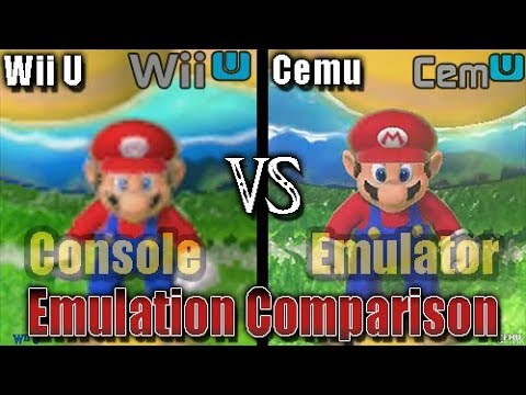 Wii U vs Cemu (Emulator vs Console - Full Comparison) [720p vs 1080p vs 4K 60FPS]