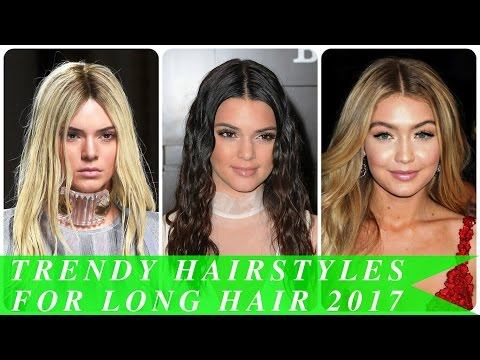 Trendy hairstyles for long hair 2017