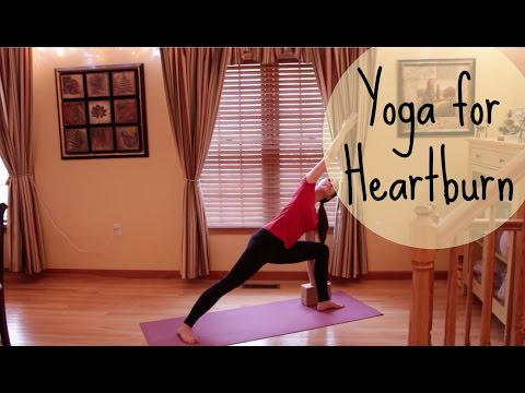 15 Min Yoga for Heartburn & Indigestion - Yoga Sequence to Relieve Acid Reflux