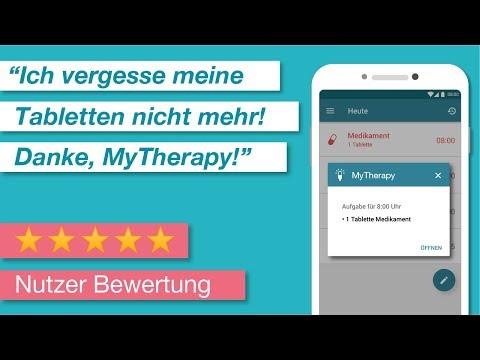 Medikamenten und Tabletten Erinnerung - MyTherapy