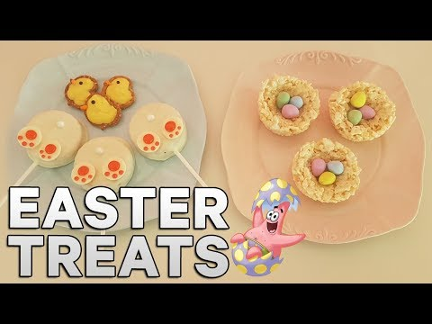 Quick and Easy Easter Treats - Triple Treats