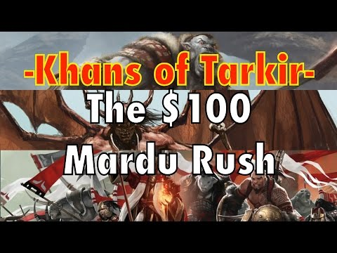 MTG - $100 Mardu Rush Deck For Standard! Raid your opponets, not your wallet! Magic: The Gathering