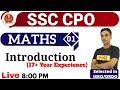 Download  Class 01|| SSC CPO || MATHS || Introduction (17+ Year Experience) || By Vikas Sir MP3,3GP,MP4