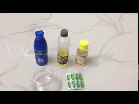 Best hair growth oil    100% natural and simple way to get longer,shinier,dandruff-free healthy hair