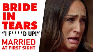 Bride breaks down over one word at the Commitment Ceremony | MAFS 2020