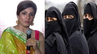 Raveena Tandon Powerful Speech On 3 Talaq Ka Masla
