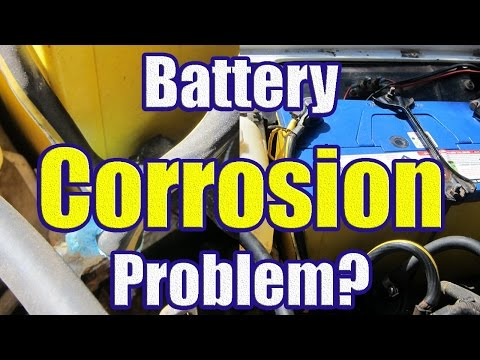How to Clean Battery Corrosion with Baking Soda (Cleaning Battery Terminal Corrosion)