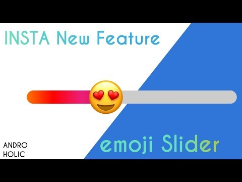Instagram New Feature - emoji Slider Sticker (How to use)