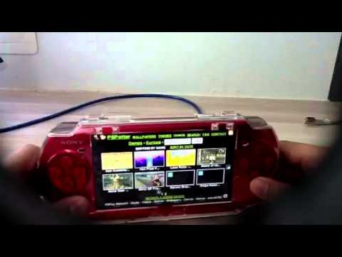 How to download game for psp without pc