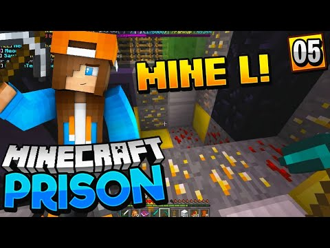 WE ARE IN MINE L!! - Minecraft Prisons PE.5 (Pocket WIN 10 Edition)