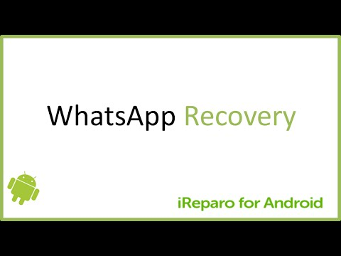 How to Restore Deleted WhatsApp Messages/Photos from Android Device without Backup