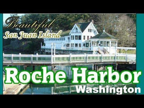 Roche Harbor San Juan Island Washington Video