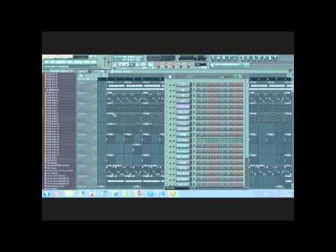 How to make a dark hip hop beat on FL studio 9 (NEW)