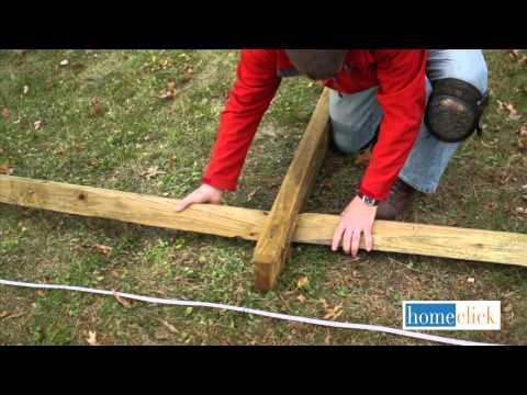 Homeclick.com:  How to Build a Split Rail Fence