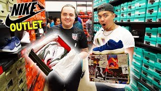 Finding The Rarest Jordans In The World At The Nike Outlet!