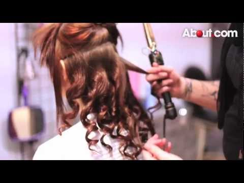 Epro Image Courses - Prom Hairstyles   Medium Length Half Down, Half Up Hairstyle for Prom