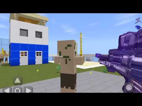 Minecraft PE Gameplay Call Of Duty Map