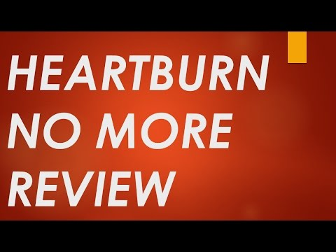Heartburn No More Review | IN DEPTH Pros And Cons for Heartburn No More Book by Jeff Martin