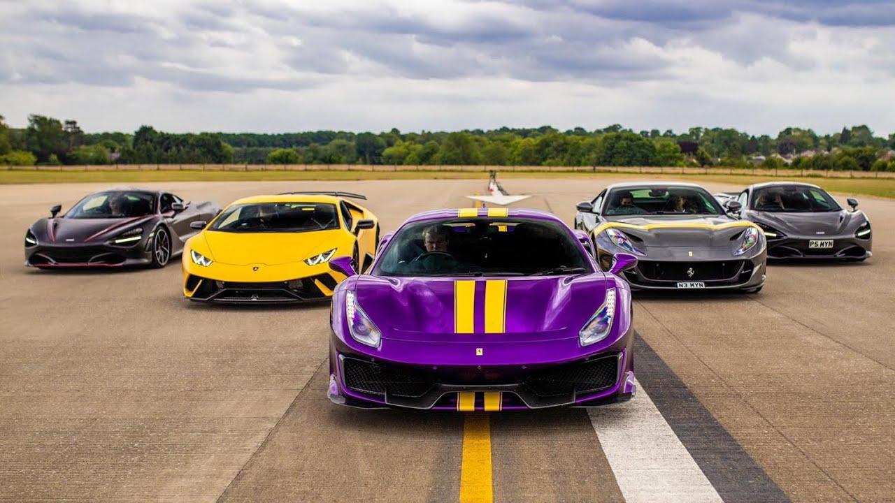 THE ULTIMATE SUPERCAR DRAG RACE - PART V (INCLUDES BONUS FOOTAGE)