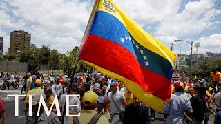 A Person Has Been Killed And Four Wounded During Voting In Venezuela By Pro-Government Groups   TIME
