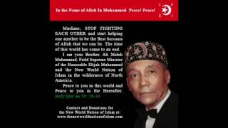 Muslims Stop Fighting