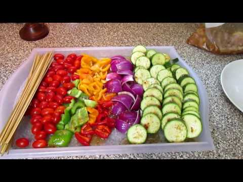 Let's Cook    Baked Chicken Kabobs