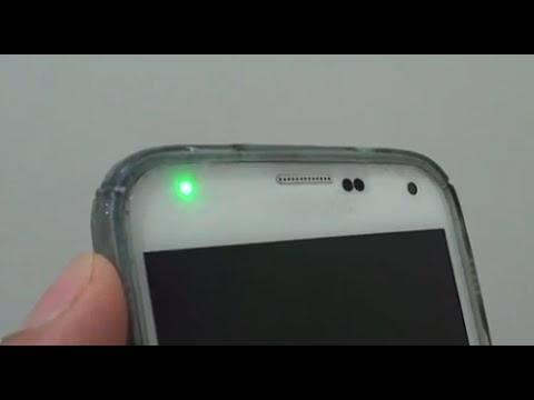 Samsung Galaxy S5: Why Do you Get Green Blinking Light