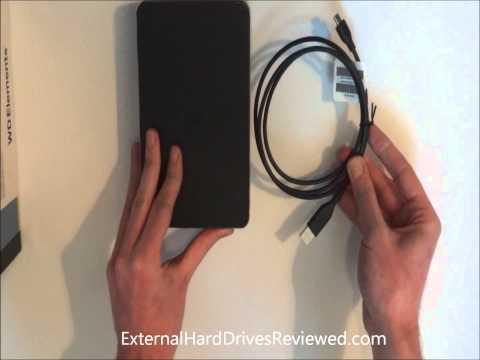 Western Digital Elements Desktop External Hard Drive Unboxing
