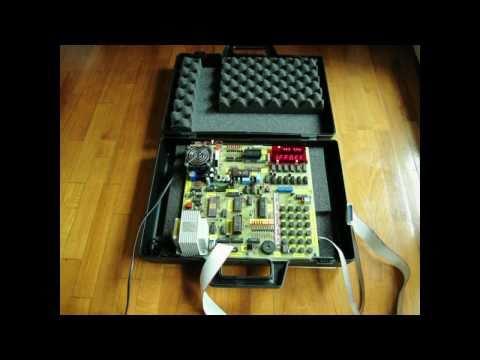 Homemade Z80 COMPUTER running elementary BASIC language