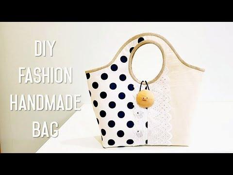 Diy Fashion Handmade Bag | Handbag Diy Tutorial ❤❤