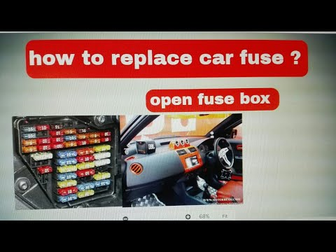 How to replace car fuses ?   ( Problem solved )