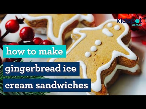 Easy Christmas recipe: How to make gingerbread ice cream men