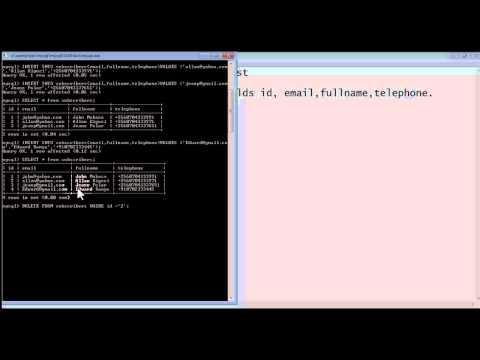 Create Mysql Database on command line interface (Using MYSQL Commands fully explained)