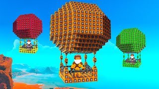 WHO HAS THE BEST HOT AIR BALLOON CHALLENGE!? - Trailmakers