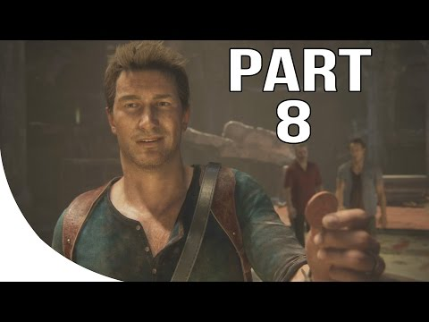 Uncharted 4: A Thief's End - Walkthrough/Gameplay Part 8-1080p