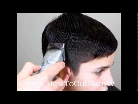 Tapered Haircut - How To Blend Hair With Clippers