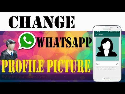 How To Change Profile Picture On WhatsApp|In hIndi Punjabi 2016