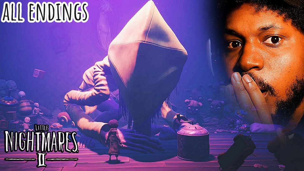 NO.. HOW COULD THEY END IT LIKE THIS!? | Little Nightmares 2 Part 5 [ALL ENDINGS]