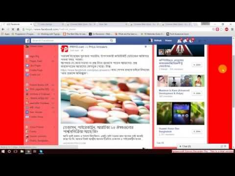 Change Facebook background color in chrome.