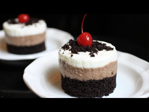 Chocolate Mousse Cake Recipe / 巧克力慕斯蛋糕